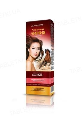 Шампунь Pharma Group Laboratories Лошадиная Линия Коллагеновый, для увеличения объема тонких волос, 200 мл