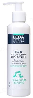 Гель для очищения кожи лица Leda с гиалуроновой кислотой, 200 мл