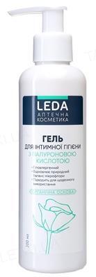 Гель для интимной гигиены Leda с гиалуроновой кислотой, 200 мл