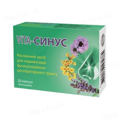 Вита-Синус капсулы №20