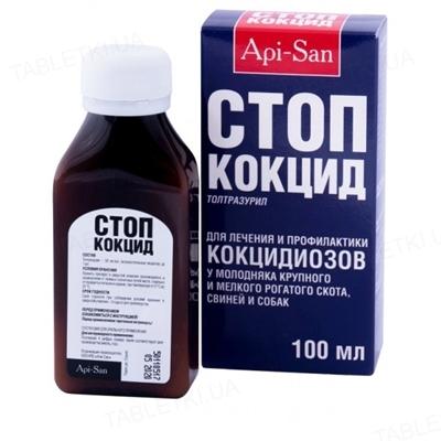 Стоп-кокцид (ДЛЯ ЖИВОТНЫХ) суспензия для лечения и профилактики кокцидиозов, 100 мл