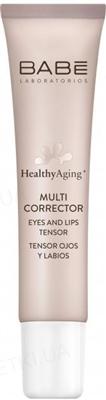 Мульти-корректор Babe Laboratorios Healthy Aging с антивозрастным эффектом для кожи вокруг глаз и губ, 15 мл