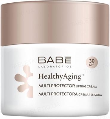 Крем для лица Babe Laboratorios Healthy Aging с DMAE SPF 30 дневной мультизащитный лифтинг, 50 мл