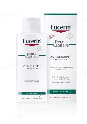 Гель-шампунь Eucerin DermoCapillaire против перхоти для жирной кожи головы, 250 мл