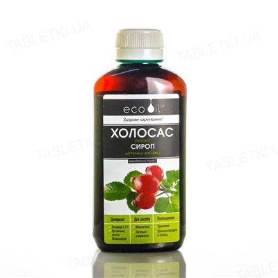 Холосас-Экооил сироп по 130 г во флак.