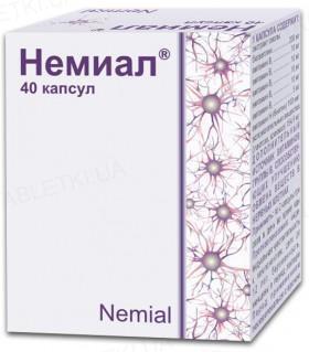 Неміал капсули №40 (10х4)