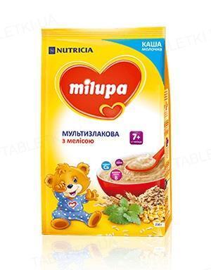 Сухая молочная каша Milupa быстрорастворимая мультизлаковая с мелиссой для детей с 7 месяцев, 210 г