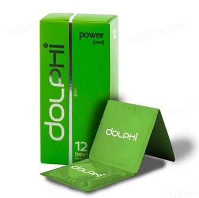 Презервативы Dolphi Lux Power с пролонгирующим эффектом для мужчин, 12 штук