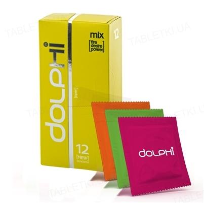 Презервативы Dolphi Lux Mix, 12 штук