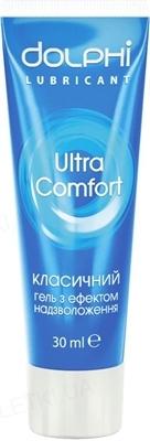 Гель-смазка интимная Dolphi Ultra Comfort классическая, 30 мл