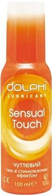 Гель-смазка интимная Dolphi Sensual Touch чувственная, 100 мл