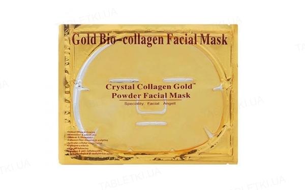 Маска гидрогелевая для лица Crystal Collagen Gold с коллагеном и био-золотом, 60 г