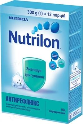Сухая молочная смесь Nutrilon Антирефлюкс для питания детей с рождения, 400 г