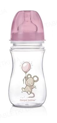 Бутылочка антиколиковая Canpol Babies EasyStart Little Cutie 35/219 с широким отверстием, 240 мл