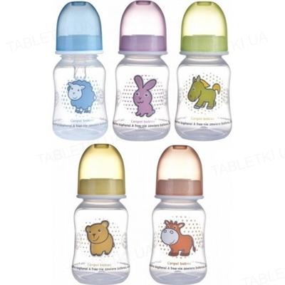 Бутылочка Canpol Babies PP 59/100 с рисунком, 120 мл