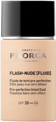 Тональный флюид Filorga Flash-Nude, тон 00 нюд, cлоновая кость, SPF30, 30мл