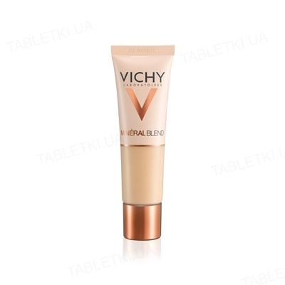 Тональное средство Vichy Mineralblend  увлажняющее, придает естественный сияющий вид, тон 03, 30 мл