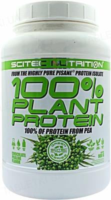 Протеин Scitec Nutrition Fourstar Plant Protein, шоколадное пралине, 900 г