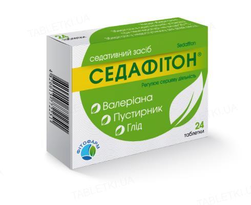 Седафитон таблетки №48 (12х4)