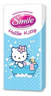 Платочки бумажные Smile Hello Kitty, 10 штук
