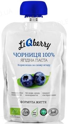 Паста ягодная LiQberry Черника, 100 г