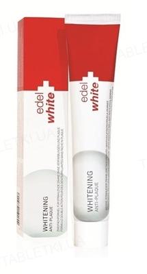 Зубная паста Edel White Антиналет + отбеливание, 75 мл