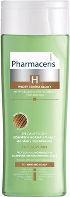 Шампунь Pharmaceris H H-Sebopurin нормализующий специализированный для себорейной кожи, склонной к раздражению, 250 мл