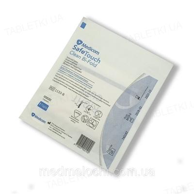Перчатки хирургические Medicom Safe-Touch Clean Bi-Fold латексные с пудрой, размер 8 стерильные, пара