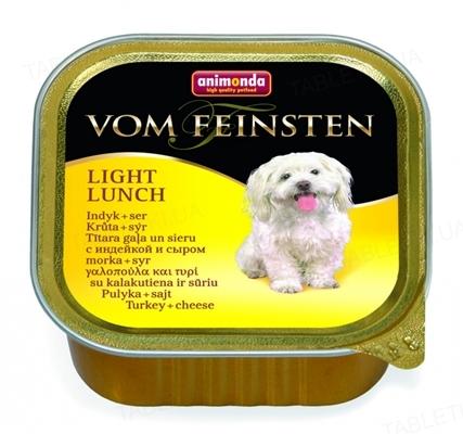 Консервы для собак Animonda Vom Feinsten с мясом индейки и сыром, 150 г (22 шт)