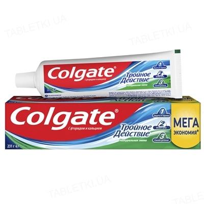 Зубная паста Colgate Тройное действие, Натуральная мята, 150 мл