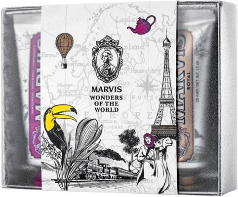 Набор зубных паст Marvis лимитированной коллекции, 3х25 мл