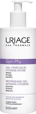 Гель для интимной гигиены Uriage Gyn-phy освежающий, 500 мл