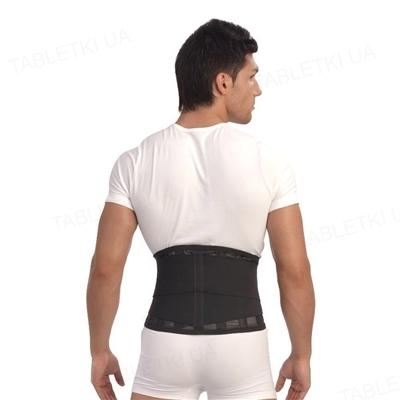 Корсет ортопедический Тривес Т-1555 на поясницу, цвет черный, размер XXL