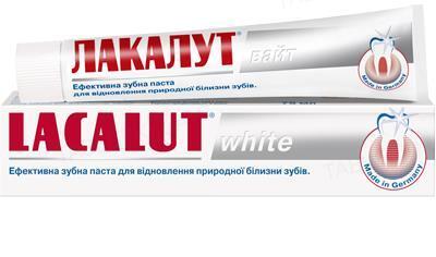 Зубная паста Lacalut White, 75 мл