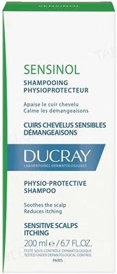 Шампунь Ducray Sensinol Physioprotective с противозудным действием, 200 мл