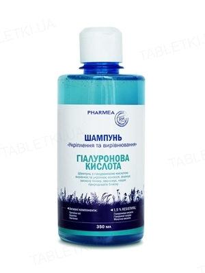 Шампунь Pharmea Гиалуроновая кислота для укрепления и выравнивания, 350 мл