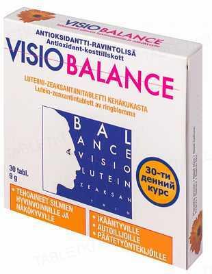 Визио Баланс таблетки №30