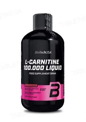 Жироспалювач Biotech L-Carnitine 100 000 Liquid Вишня, 500 мл