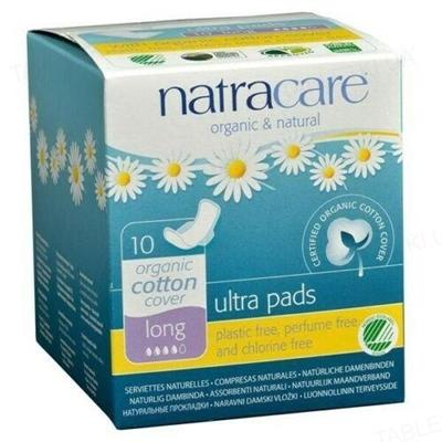 Прокладки гигиенические Natracare 3104 Long ультратонкие органические, 10 штук
