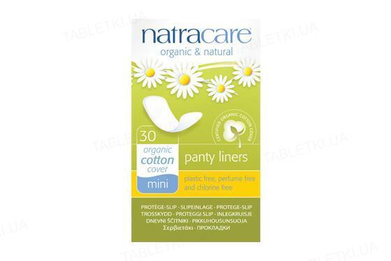 Прокладки ежедневные Natracare 3050 Mini органические, 30 штук