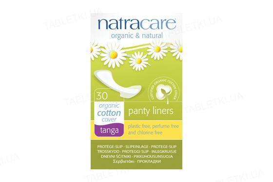 Прокладки ежедневные Natracare 3072 Tanga органические, 30 штук