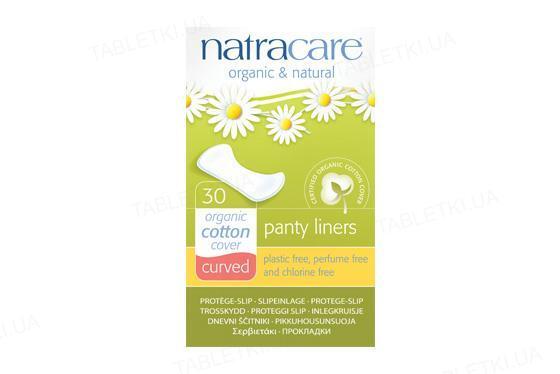 Прокладки ежедневные Natracare 3060 Curved органические, 30 штук