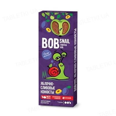 Конфеты Bob Snail натуральные яблочно-сливовые, 30 г