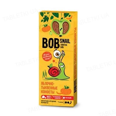 Конфеты Bob Snail натуральные яблочно-тыквенные, 30 г