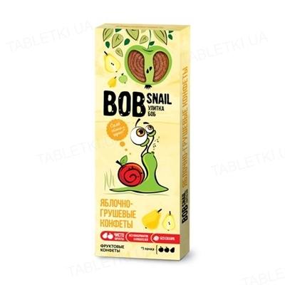 Конфеты Bob Snail натуральные яблочно-грушевые, 30 г