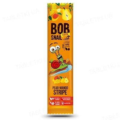 Цукерки Bob Snail натуральні груша-манго, 14 г