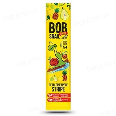 Цукерки Bob Snail натуральні груша-ананас, 14 г