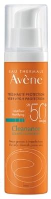 Флюид Avene Cleanance Солнцезащитный SPF50 +, 50 мл