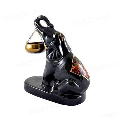 Аромалампа Слон индийский черный