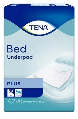 Пеленки впитывающие Tena Bed Plus 60 x 90 см, 5 штук